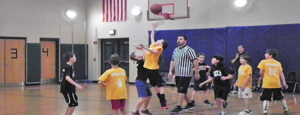 Boys House League Basketball